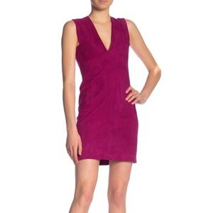 Theory Zinovin S. Double Face Suede Dress size 0